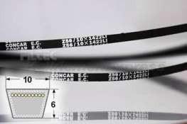 10x1180 Keilriemen 10 x 1180 Li 10x1202 Lw Z46 1//2  DIN 2215